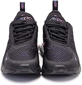 Nike Air Max 270, Men's Shoes, Black (BlackLaser Fuchsia