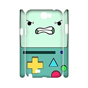 Beemo Adventure Time Personalized 3D Cover Case for Samsung Galaxy Note 2 N7100,customized phone case ygtg589373