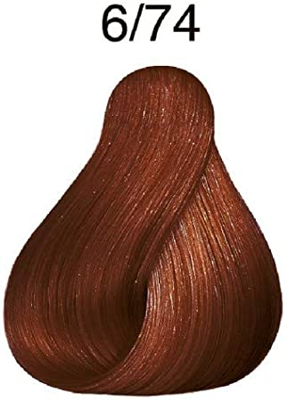Wella Koleston Perfect 6/74 rubio oscuro castaño rojo 60 ml ...