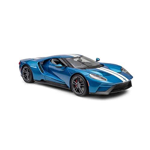 2017 Ford Gt 1/18 Maisto Azul
