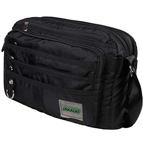 - Waterproof Messenger Bag Multifunction Casual Shoulder Bags Business Work Bag Large Satchel Bag with Multi-Pockets for Travel Briefcase Bag Fits 14