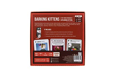 Exploding Kittens This Is The Third Expansion of Exploding Family-Friendly Party Card Games For Adults, Teens & Kids
