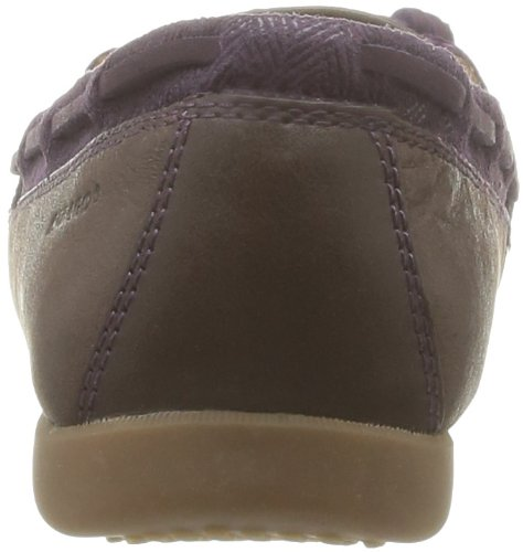 Basses brown Chaussures Sebago Lace Felucca Femme Marron violet tqBxTRw