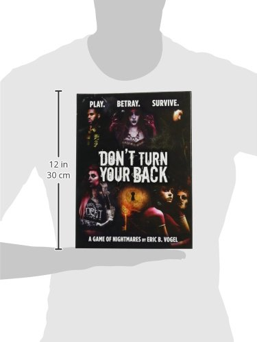 Evil Hat Productions Don't Turn Your Back Board Game