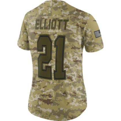 reputable site ac94e bf4ec Amazon.com : Dallas Cowboys Womens Ezekiel Elliott #21 Nike ...