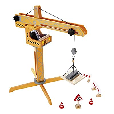 Award Winning Hape Playscapes Crane Lift Playset: Toys & Games