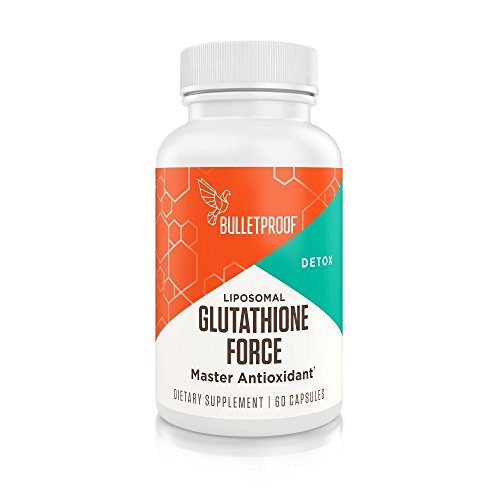 Bulletproof - Glutathione Force, Power Up on a Cellular Level, 60 Count