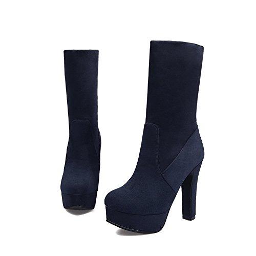 Zapatos cerrados mujer Para Azul AdeeSu fpqw7v7