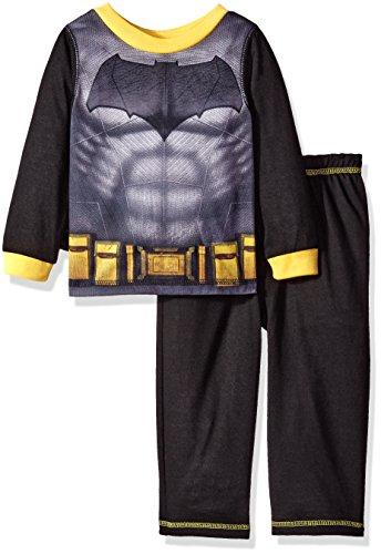 DC Comics Little Boys' Toddler Batman 2 Piece Set with Cape, Black, 2T ()