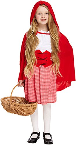 Little Red Riding Hood Costume Age 7-9 (Little Red Riding Hood Costume For Kids)