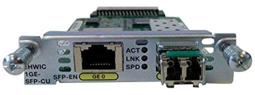 Cisco EHWIC-1GE-SFP-CU High-Speed WAN Interface Card by Cisco