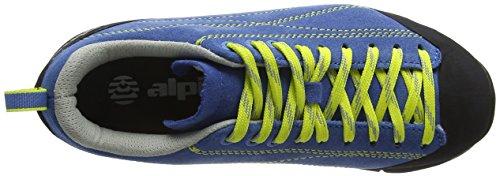 amp; Blau alpina Erwachsene Trekking Unisex 680353 Blau Wanderhalbschuhe HxrYqrInw