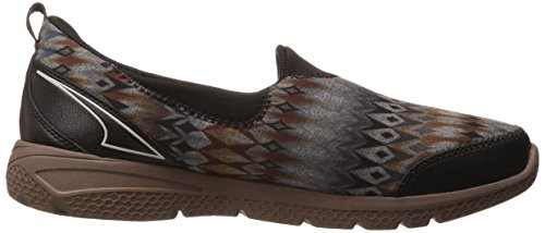 Zapatillas Slip-on Ryley Mujeres Henley Black / Shiitake Brown