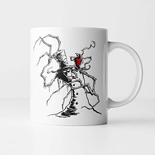 - Jack Frost - Horror Christmas Mug | Gothic Christmas Horror Snowman Halloween Christmas Gifts for Horror Lovers