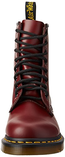 Dr. Martens Womens 1460 Stivali In Vernice A 8 Occhi, Rosso Ciliegia Rouge Liscio, 5 F (m) Uk / 7 B (m) Us Women / 6 D (m) Us Men