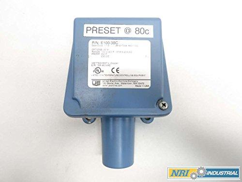 UNITED ELECTRIC E100-3BC 100-400F TEMPERATURE SWITCH 480V-AC D518325