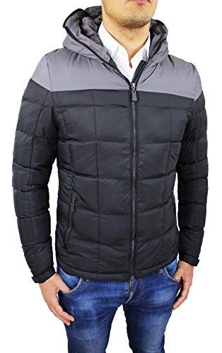 D'hiver M Doudoune Fit Homme Xl Blouson Bomber L Veste Slim S Xxl Taille Vest Noir Gris TAz7dwHdxn