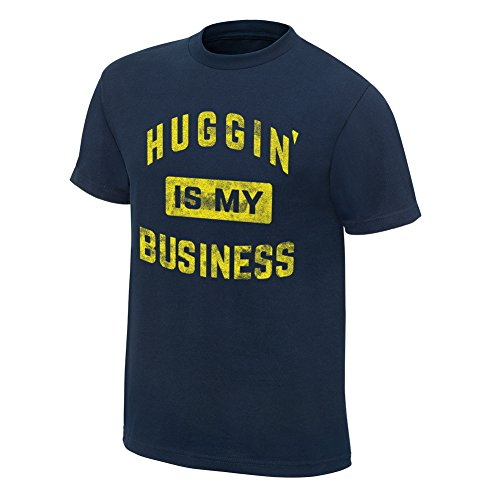 WWE Bayley Huggin' is My Business Special Edition T-Shirt Navy Blue 2XL by WWE Authentic Wear