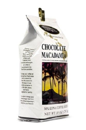 Chocolate Macadamia Nut 10 oz Whole Bean Coffee