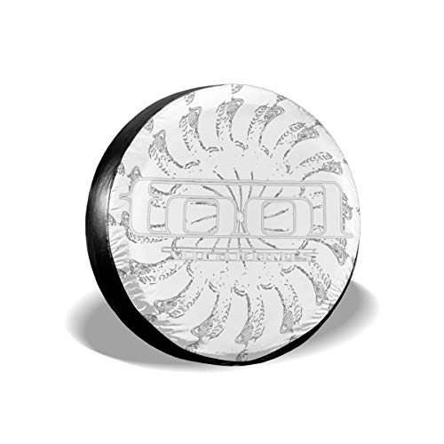 Bizwheo Spectre Spiral Classic Polyester Spare Tire Cover Dust-Proof for All Cars