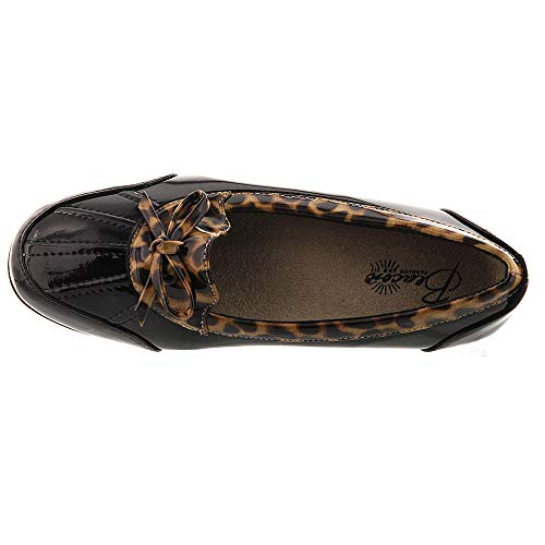 Rainy leopard Slip Beacon On Women's Black Bxn1qa5Uf