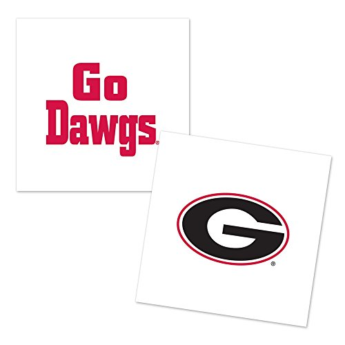 Georgia Bulldogs 4-Pack Temporary Tattoos -