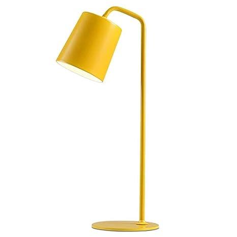 Lámpara de mesa de hierro forjado LED moderna industrial ...