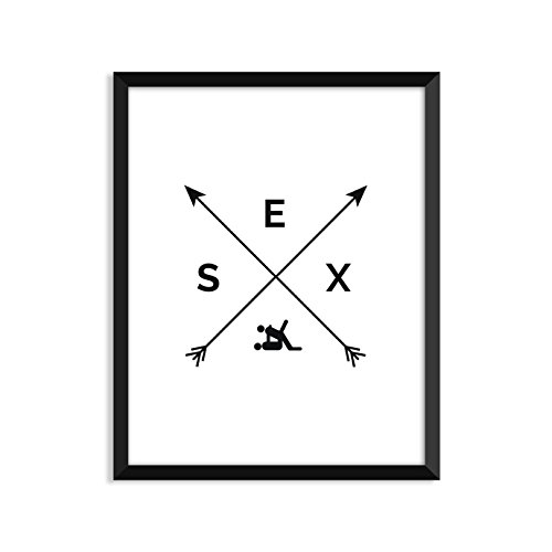 Sex - Arrows - Unframed art print poster or greeting card