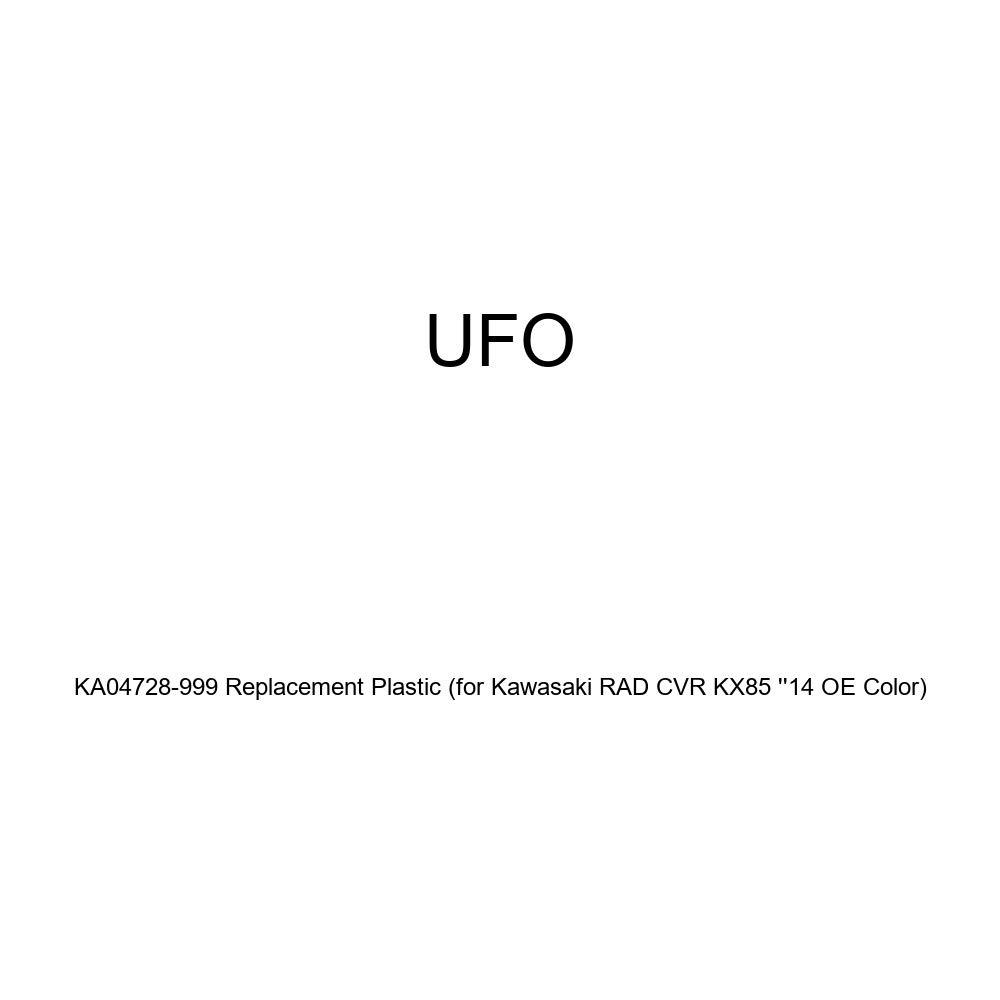 for Kawasaki RAD CVR KX85 14 OE Color UFO KA04728-999 Replacement Plastic