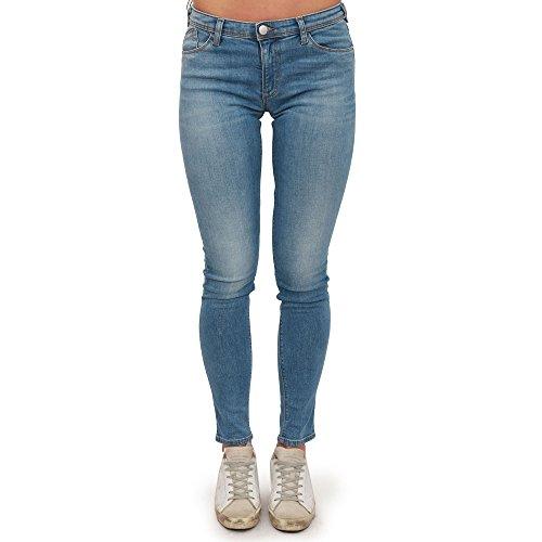 Donna Armani Tasche Skinny Gamba Chiaro Emporio 3z2j28 5 Jeans Slim xPwfd0qq7