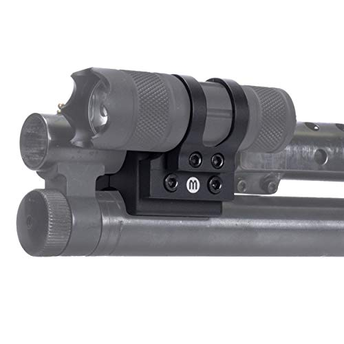 Monstrum Offset Flashlight Mount for Shotguns | 1 inch Diameter