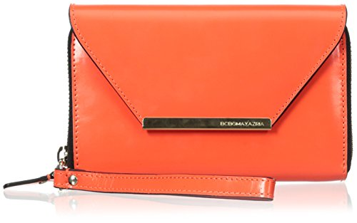 bcbg-lola-zip-around-cell-phone-case-neon-orange-one-size