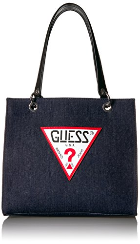 GUESS Varsity Pop Denim Shopper
