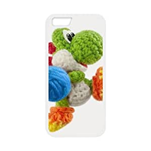 iPhone 6 4.7 Inch Cell Phone Case White Yoshi's Woolly World LV7923023