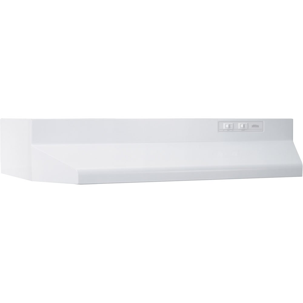 Broan 403001 ADA Capable Under-Cabinet Range Hood, 30-Inch, White