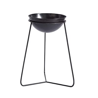 Ceramic vases Wrought Iron Multi-Functional Partition Flower Stand, Indoor Living Room Decoration Balcony Multi-Layer Trapezoidal Flower Shelf, Outdoor Hanging,vase, Patio,Wedding (Size : 4434.5CM): Home & Kitchen