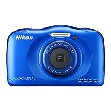NIKON COOLPIX S33 Blue Waterproof