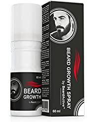 Beard Growth Spray® - The Solution for the Perfect Beard - 100 % Natural Formula