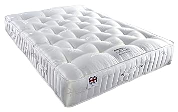 official photos 46844 f7a06 Somnior 3000 Optimum Optimum 3000 Pocket Sprung Mattress for Independent  Supported Sleep, Microfibre, White, Double