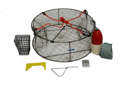 Ladner Traps Stainless Steel Ultimate Crab Trap Kit, 30-Inch by Ladner Traps