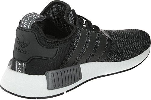 Adidas Mænd Nmd_r1 Sneaker, Grå, Sort Xx (negbás / Carbon / Ftwbla 000)