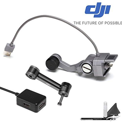 Crystal Monitor (DJI CrystalSky Osmo Pro/RAW Mounting Bracket Kit with Connection Kit + eDigitalUSA Stylus Pen)