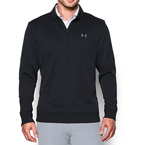 (Under Armour Men's Storm Fleece QZ Sweater, Black,)
