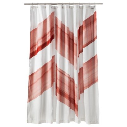 Nate Berkus Color Block Antigua Shower Curtain Chilli Amazonca Home Kitchen