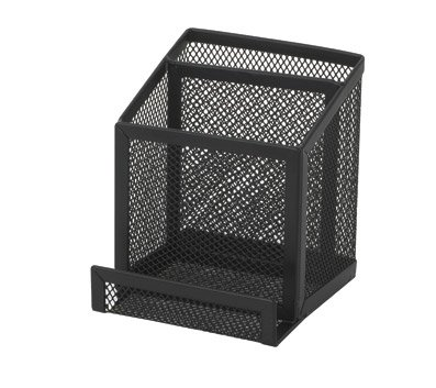 Officemax Index Cards - OfficeMax Mesh Pencil & Card Holder, Black