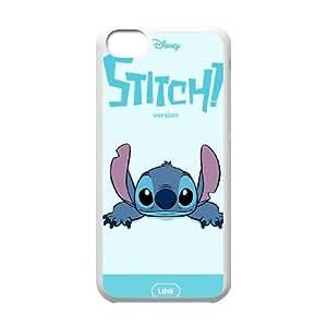 Disneys Lilo and Stitch 003 iPhone 5c Cell Phone Case White TPU Phone Case RV_590853