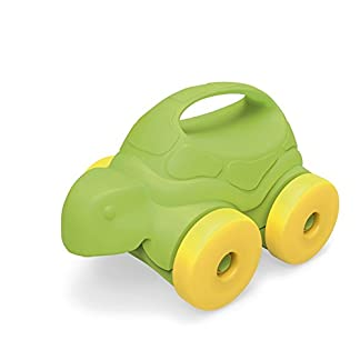 Toy Turtle -on-Wheels, Green/Yellow, by Green Toys