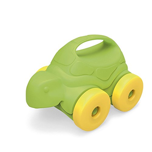 Green Toys Turtle-on-Wheels, Green/Yellow (Made In Usa Baby Toys compare prices)