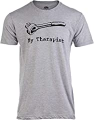 A t-shirt with a funny print across the chest sure to get a laugh