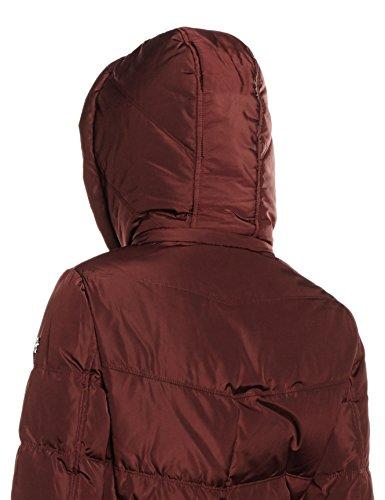 ESPRIT 096ee1g017, Abrigo para Mujer Rojo (Bordeaux Red 600)